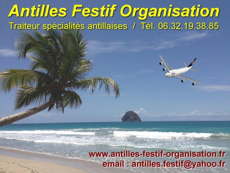 Traiteur aux couleurs des Antilles - Angers